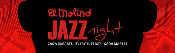 'Jazz Night' at El Molino is amplified and  Ignasi Terraza comes to celebrate
